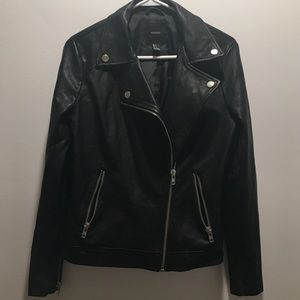 Forever 21 Black Leather like Jacket